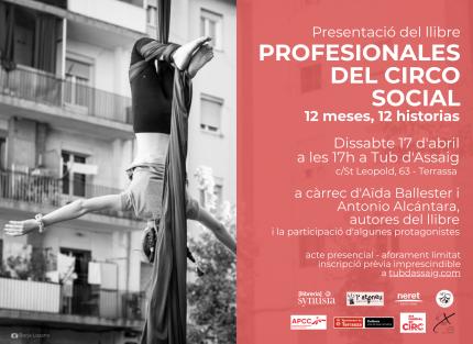 """[Presentació llibre] """"Profesionales del circo social"""""""