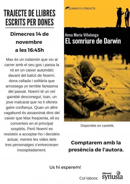 Club de Lectura: El somriure de Darwin