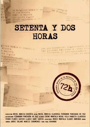 """[Projecció audiovisual] """"72 horas"""""""