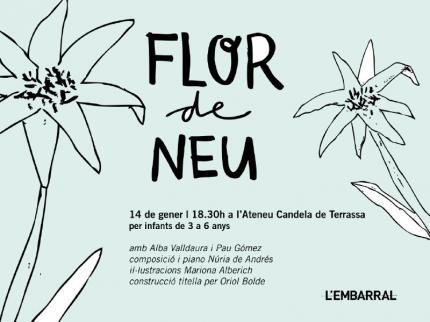 """[Cicle infantil] """"Flor de neu"""""""
