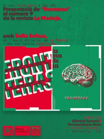 """[Presentació] """"Fronteras"""" La Madeja núm.9"""