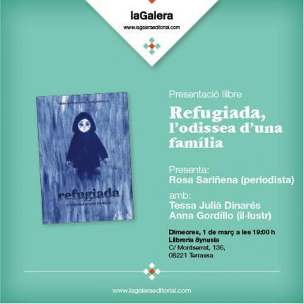 """[Presentació llibre] """"Refugiada"""""""