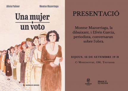 [Presentació] Una mujer, un voto