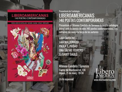 [Presentació] Liberoamericanas. 140 poetas contemporáneas