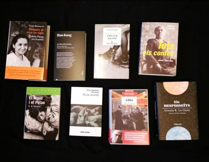 #SantJordi18 | Narrativa per a llegir el món!