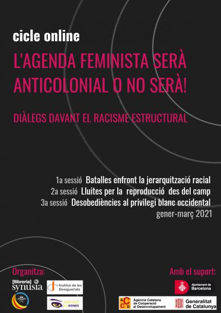 L'agenda feminista serà anticolonial o no serà.