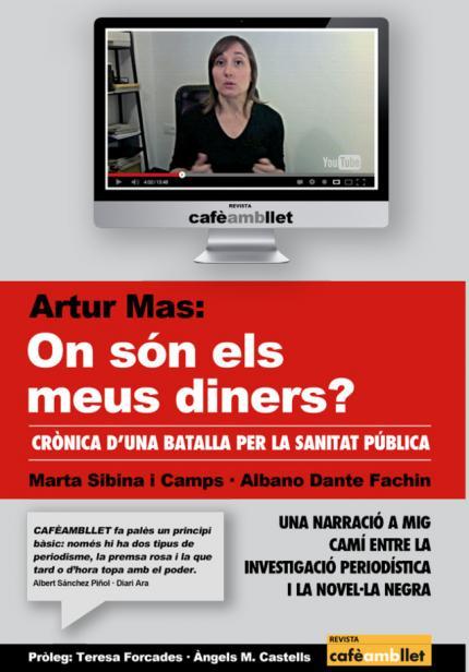 """[Presentació llibre] """"Artur Mas: on són els meus diners?"""""""