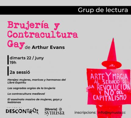 [ 2a sessió Grup de lectura] Brujería y contracultura gay 2021