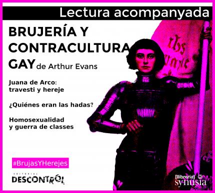 [ 1a sessió Lectura acompanyada] Brujeria y contracultura gay