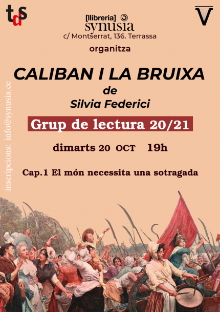[Grup de lectura] 1a sessió Caliban i la bruixa 20/21