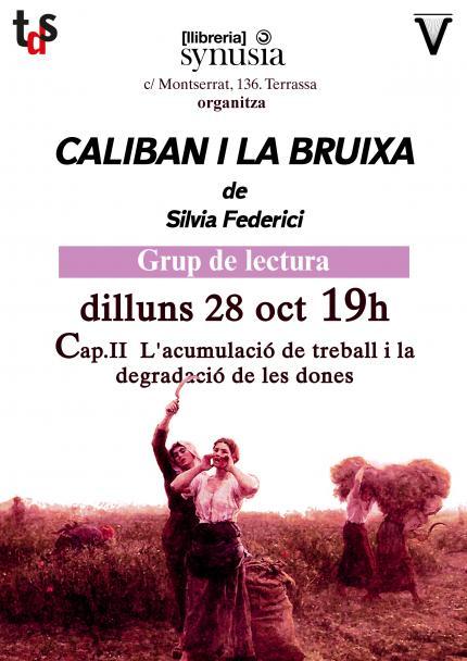 [Grup de lectura 19/20] 2a sessió Caliban i la bruixa