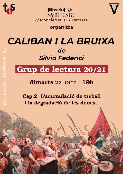 [Grup de lectura] 2a sessió Caliban i la bruixa 20/21