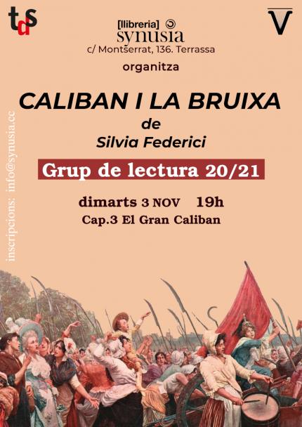 [Grup de lectura] 3a sessió Caliban i la bruixa 20/21