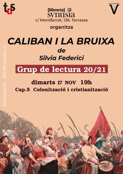 [Grup de lectura] 5a sessió Caliban i la bruixa 20/21