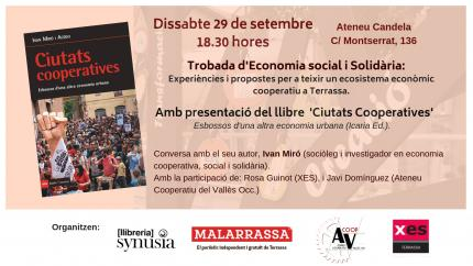 """[Presentació llibre] """"Ciutats cooperatives"""""""