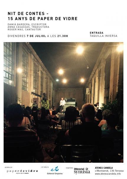 [Teatre i contes] Nit Final amb Paper de Vidre