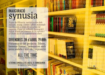 """""""Inauguració de la llibreria Synusia"""""""
