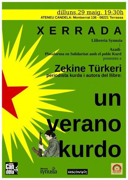 """[Xerrada] """"Un verano kurdo"""" amb Zekine Türkeri"""
