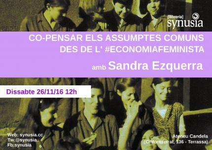 [Conversa] Co-pensar els assumptes comúns des de l'economia feminista