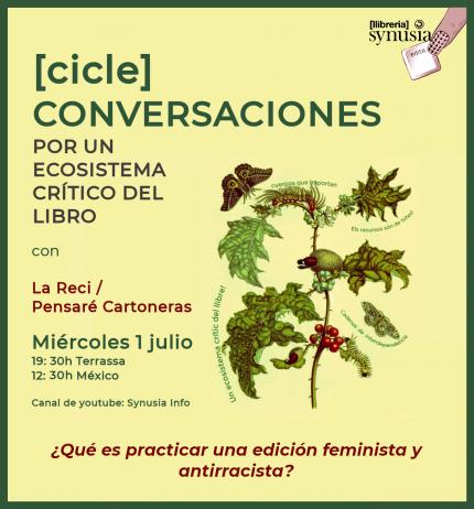 [Cicle ONLINE] 4a conversa per un ecosistema crític del llibre