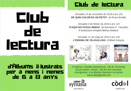 Club de Lectura d'Àlbum Il·lustrat