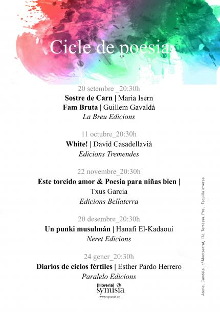 Cicle de Poesia a Synusia