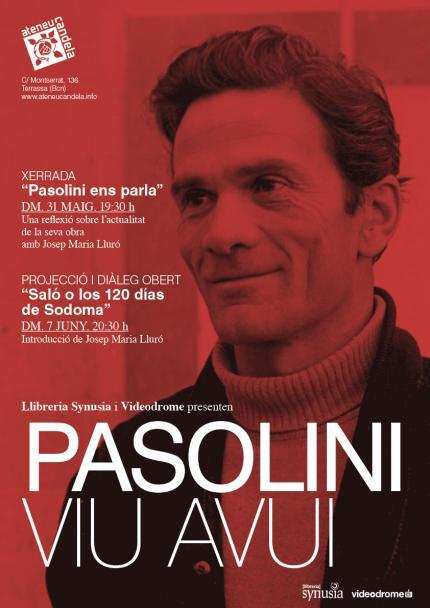 [Cicle] Pasolini viu avui