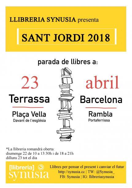 #SantJordi2018 a Synusia!