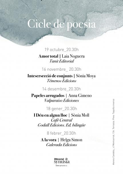 CICLE   Poesia a Synusia!