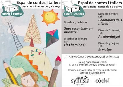Estris i Contes |Taller literari infantil