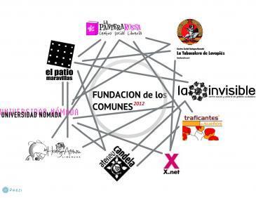 Se crea la Fundación de los Comunes en La Casa Invisible de Málaga, una red de experiencias y espacios de movimiento de distintos puntos del Estado