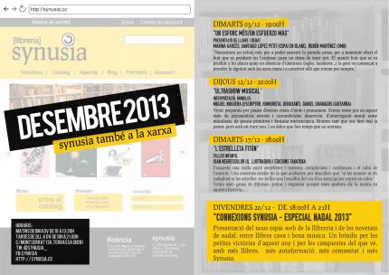 Programació Desembre 2013