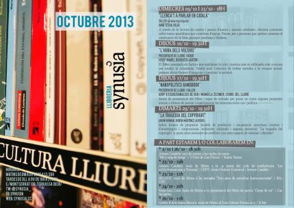 Programació Octubre 2013