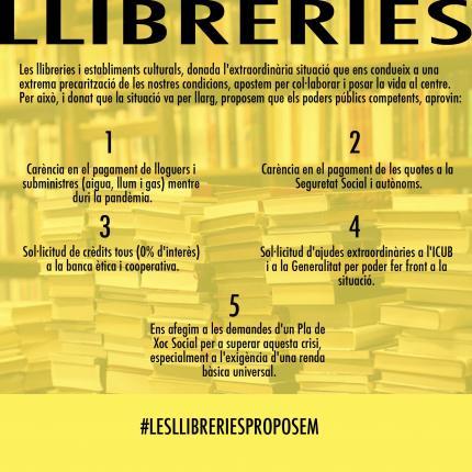 #LesLlibreriesProposem