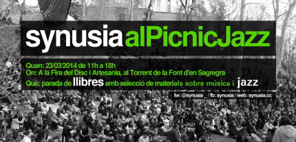 Synusia al Pícnic Jazz 2014