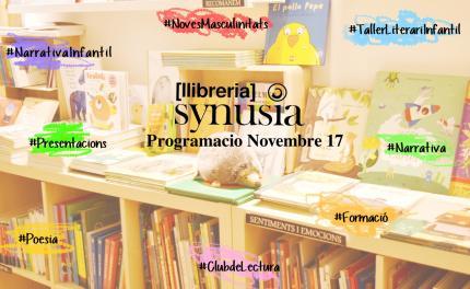 PROGRAMACIÓ | Novembre '17