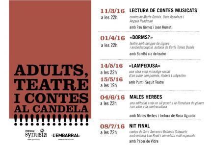Cicle de Teatre i Contes per adults