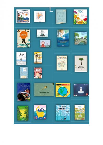 Aigua i llibres. Un recorregut infantil i juvenil.