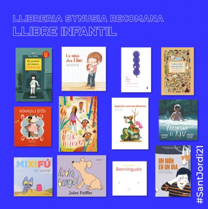 Literatura infantil per #SantJordi21