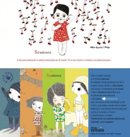 """[Presentació] """"El cirerer"""" i """"Els Quaderns de la Kira"""""""
