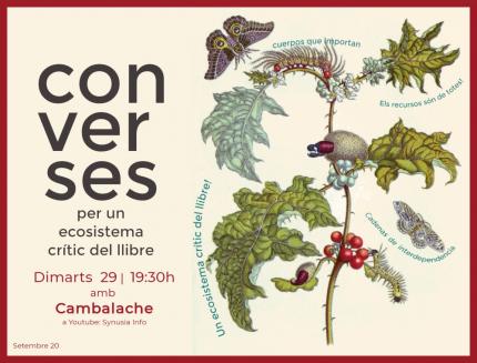 [Cicle ONLINE] 5a conversa per un ecosistema crític del llibre