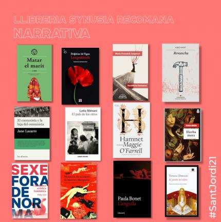 Narratives recomanades per  #SantJordi21