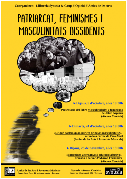 PATRIARCAT, FEMINISMES I MASCULINITATS DISSIDENTS