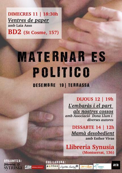 Maternar es político