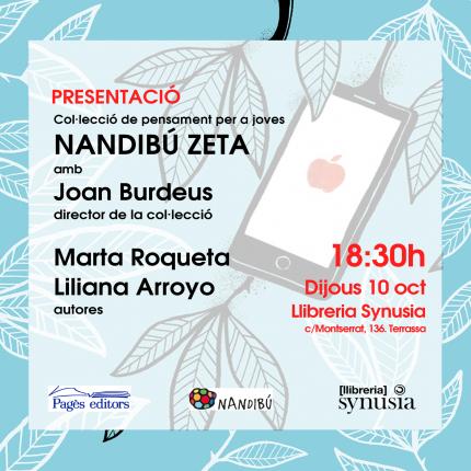 [Presentació] Col·lecció Nandibú Zeta