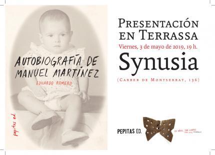 [Presentació] Autobiografia de Manuel Martínez