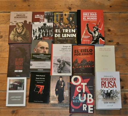 A la recerca de l'ànima russa: llibres per al centenari d'una revolució
