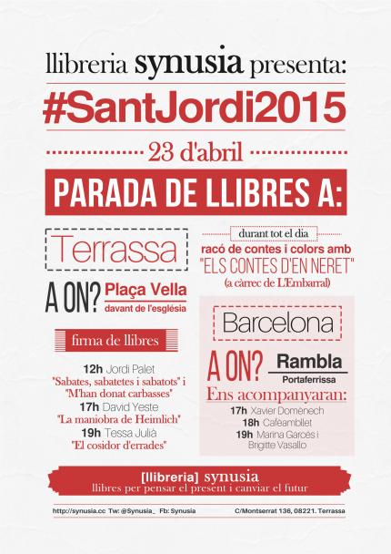#SantJordi2015