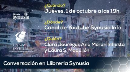 Conversa online amb La Nave Invisible. Ciència-ficció, fantasia i terror en femení