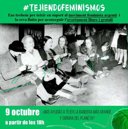 #TejiendoFeminismos (3a trobada)